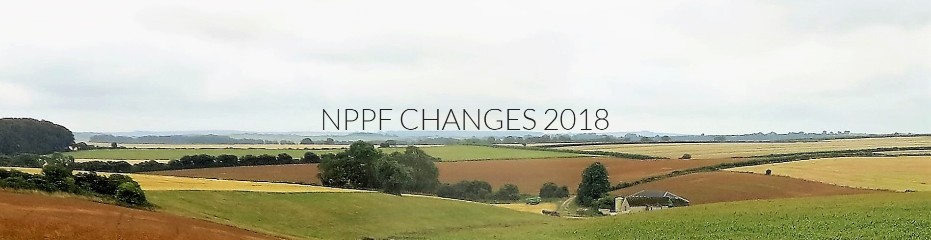 NPPF Changes 2018 - The South Hams Society