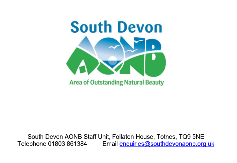 THE SOUTH DEVON AONB PARTNERSHIP COMMITTEE